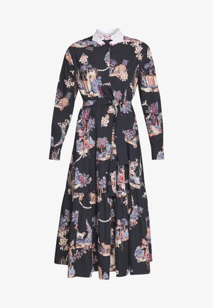 DRESS - Shirt dress - dark blue