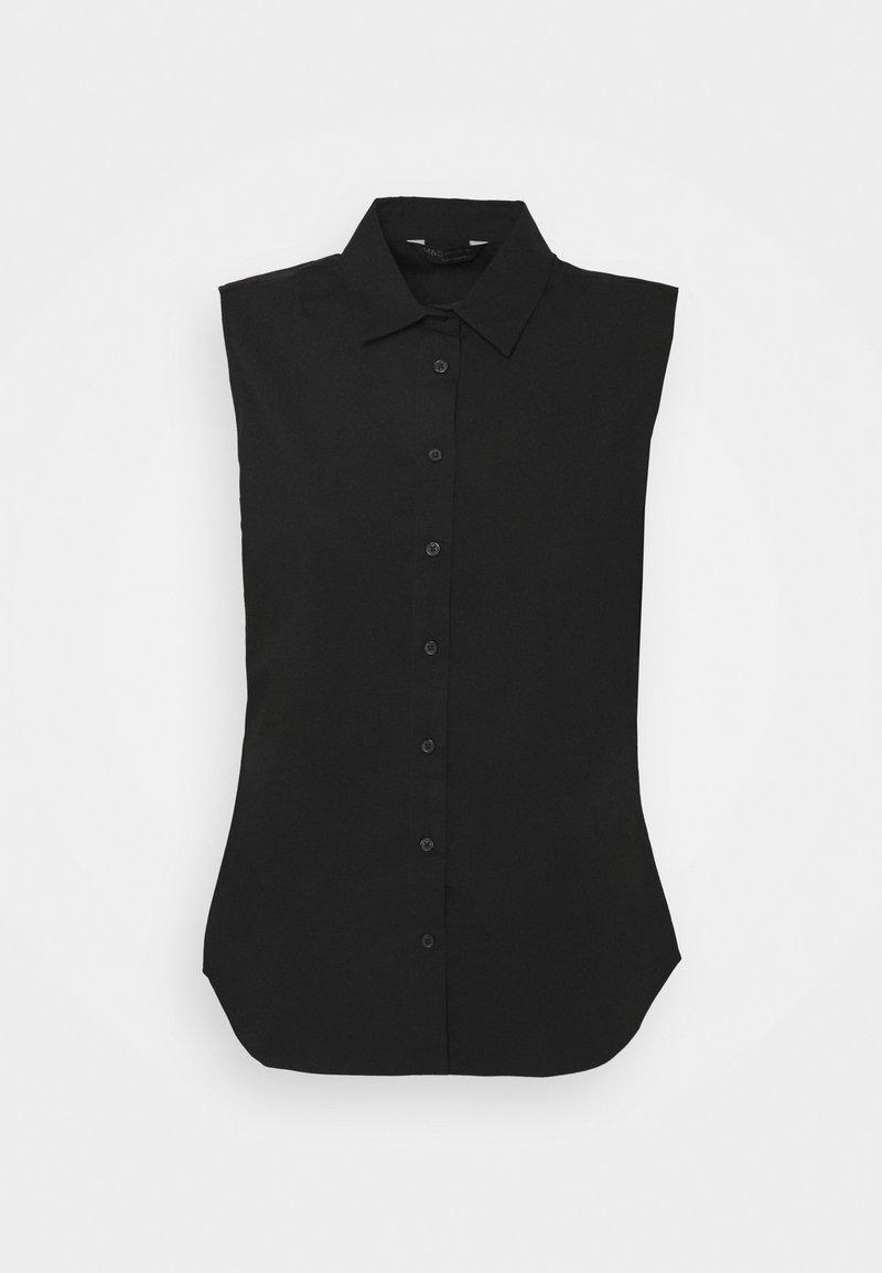 Marks & Spencer London - Button-down blouse - black