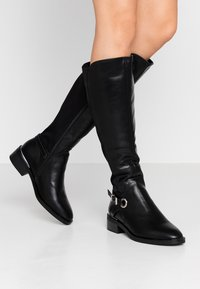 Dorothy Perkins Wide Fit - WIDE FIT KIKKA FORMAL RIDING BOOT - Boots - black - 0