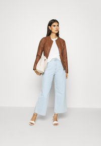 Soyaconcept - SC-AMALIE 4 - Faux leather jacket - brown - 1