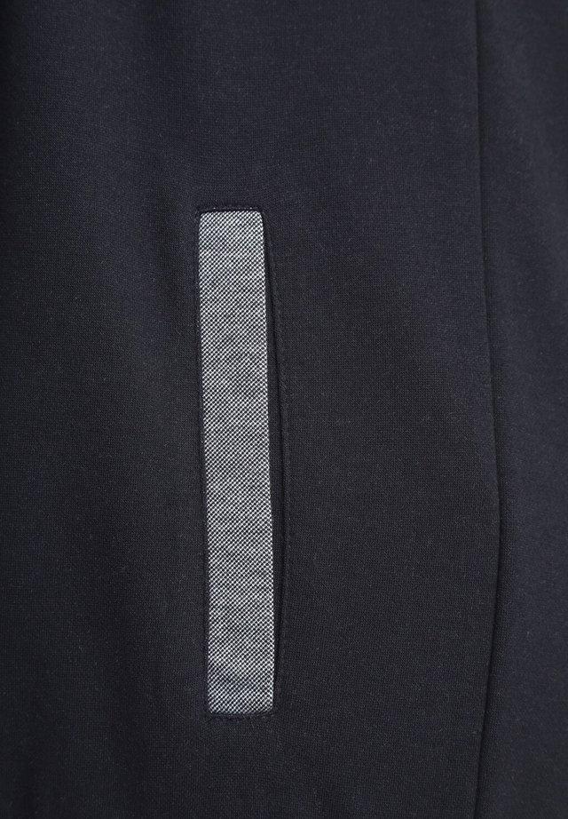 veste en sweat zippée - dark blue melange