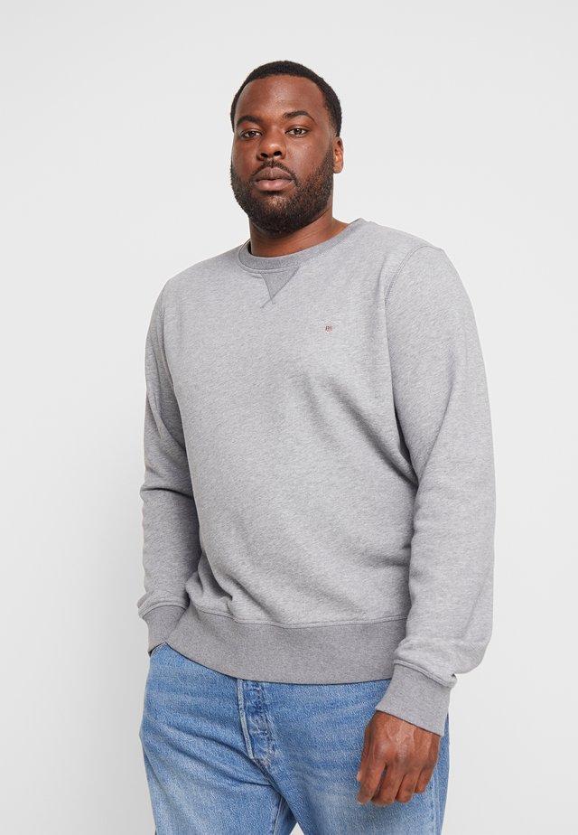 THE ORIGINAL C-NECK - Sweater - dark grey melange