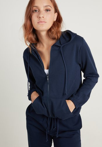 Zip-up sweatshirt - blu assoluto