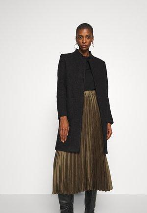 TEDDY COAT - Classic coat - black