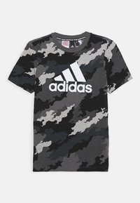 adidas Performance - UNISEX - T-shirt z nadrukiem - light grey - 0