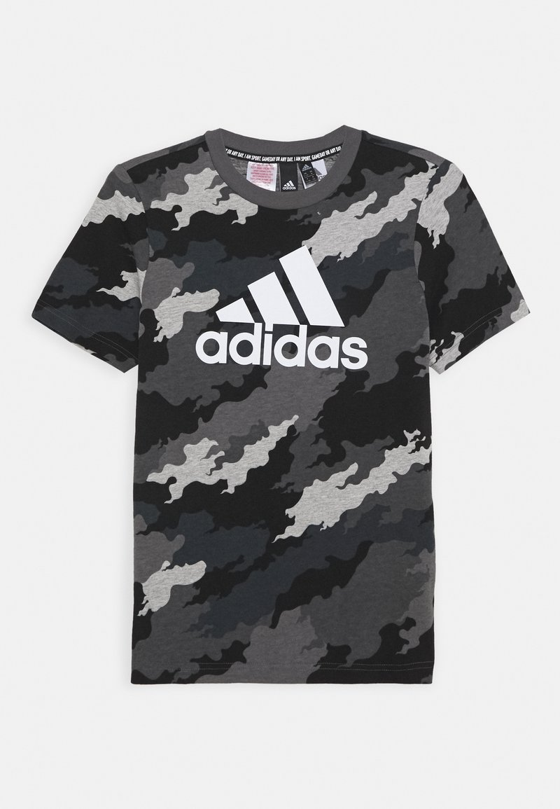 adidas Performance - UNISEX - T-shirt z nadrukiem - light grey