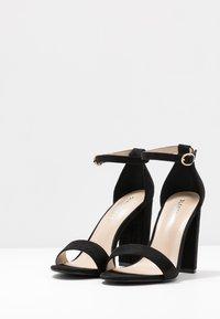 Glamorous Wide Fit - Sandały na obcasie - black - 4