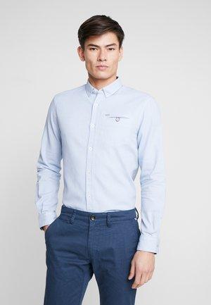 DOBBY  - Shirt - light blue/white