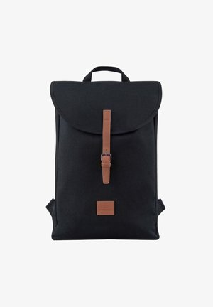 LIAM - Rucksack - black/brown