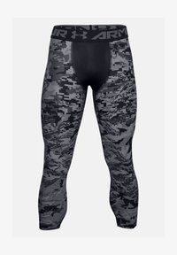 Under Armour - UA HG 3/4 PRINT  - Base layer - black