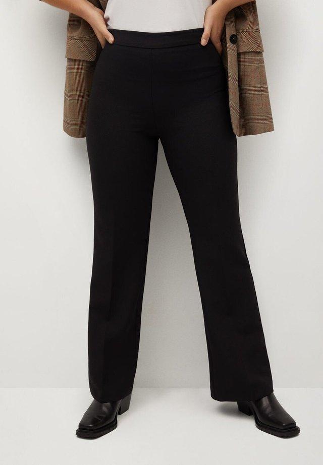 CROWN - Pantalon classique - schwarz