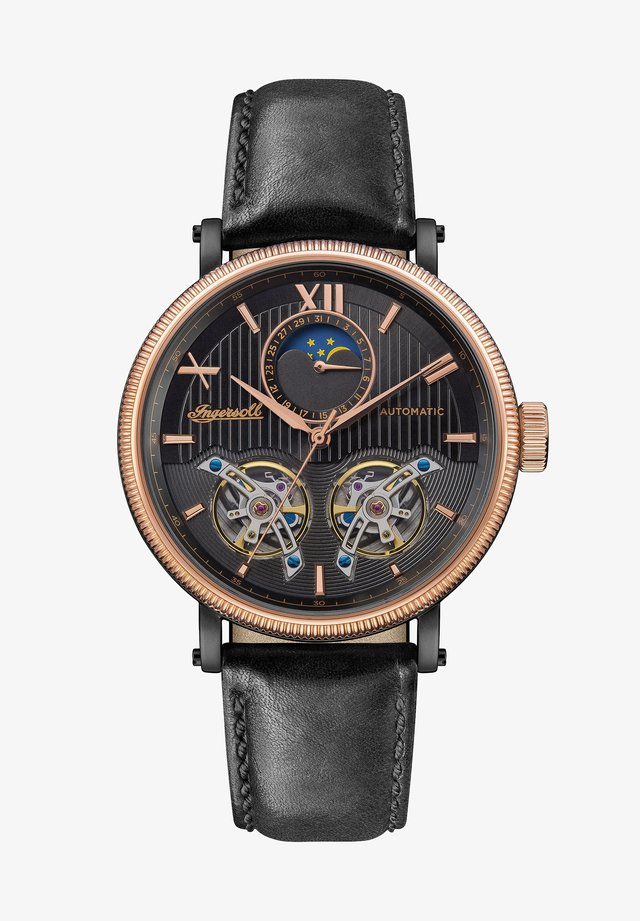 THE HOLLYWOOD  - Montre à aiguilles - copper/black