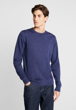 FINE GAUGE LUXURY  - Sweter - blue denim
