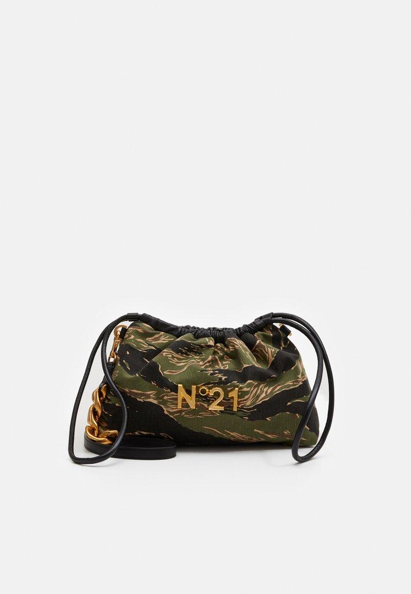 N°21 - EVA BAG COULISSE - Handbag - dark green