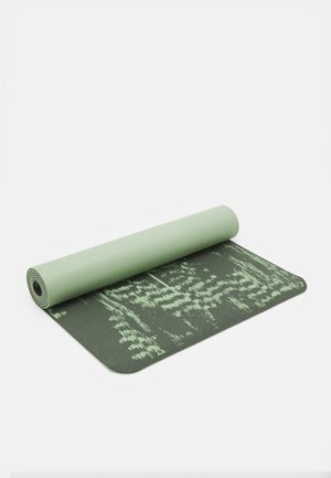EXERCISE MAT CUSHION 5MM - Fitness / Yoga - calming green