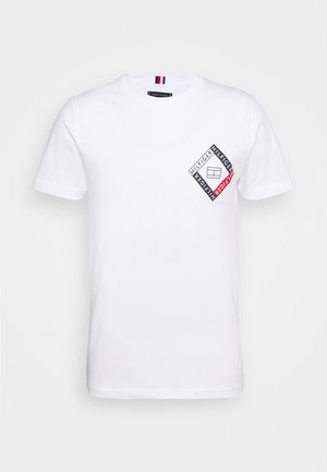CORP DIAMOND TEE - Print T-shirt - white