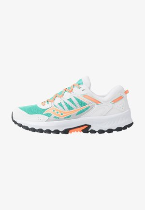 EXCURSION TR13 - Sneakersy niskie - white/orange/aqua