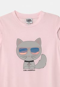 KARL LAGERFELD - Jersey dress - pale pink - 2