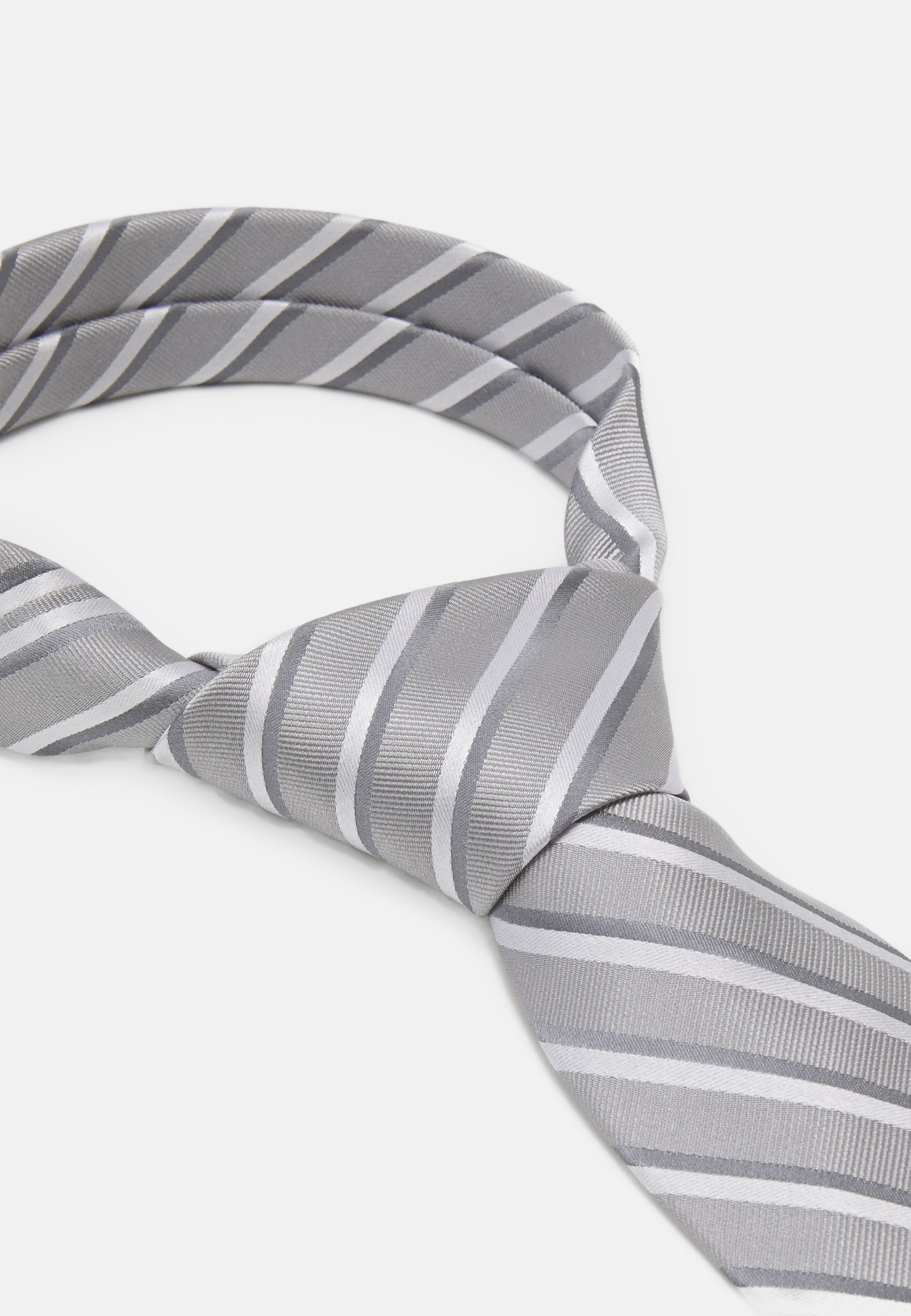 CHARLES STRIPE Slips grey