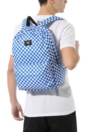 OLD SKOOL  - Rucksack - victoria blue check