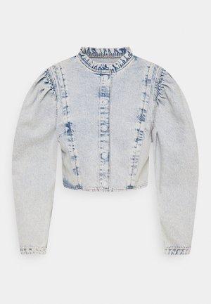 CERYS - Denim jacket - denim acid wash