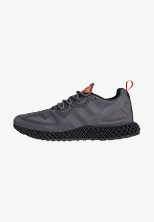 ZX 4D - Sneakersy niskie - grey four core black solar orange