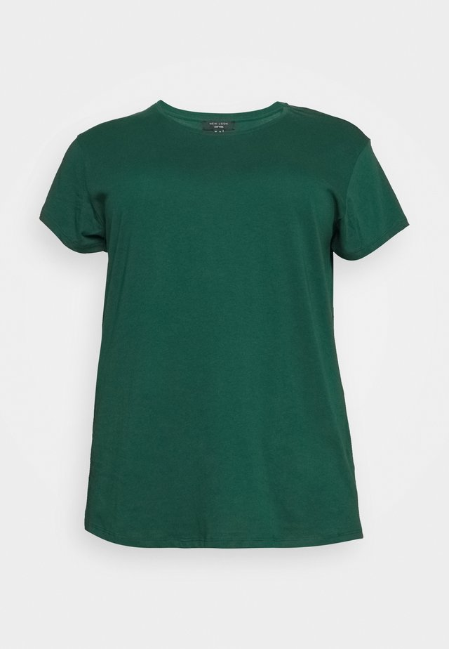 BOYFRIEND TEE - Basic T-shirt - mid green