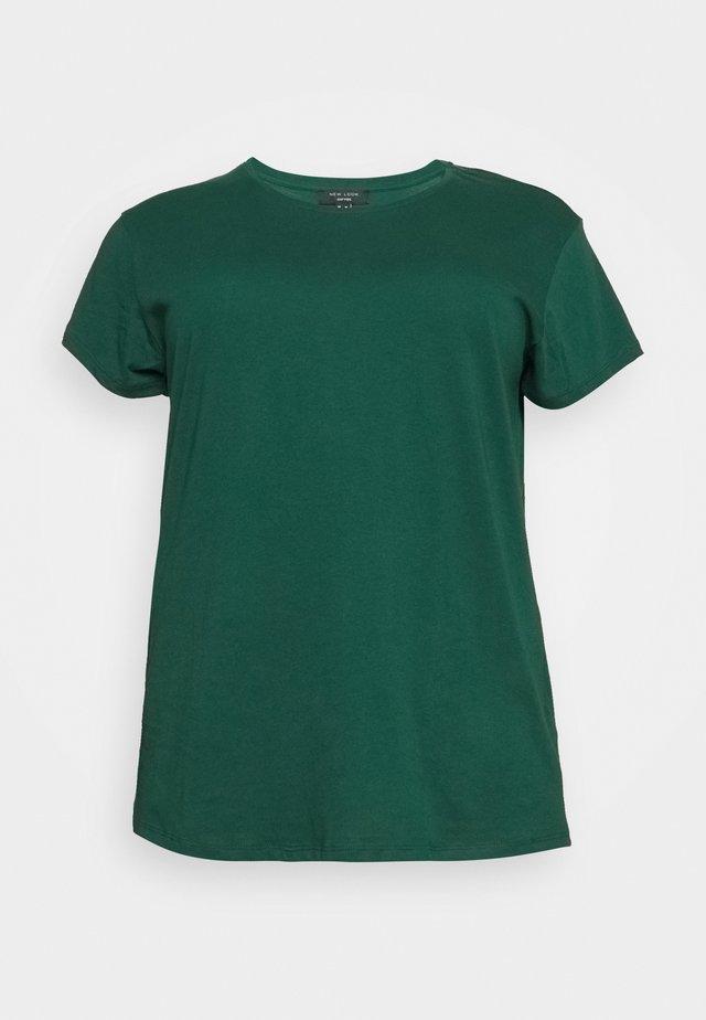 BOYFRIEND TEE - T-paita - mid green