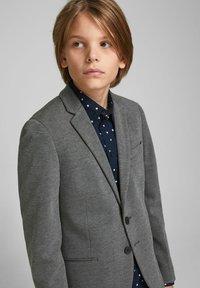 Jack & Jones Junior - JJEPHIL - Blazer jacket - grey melange - 3