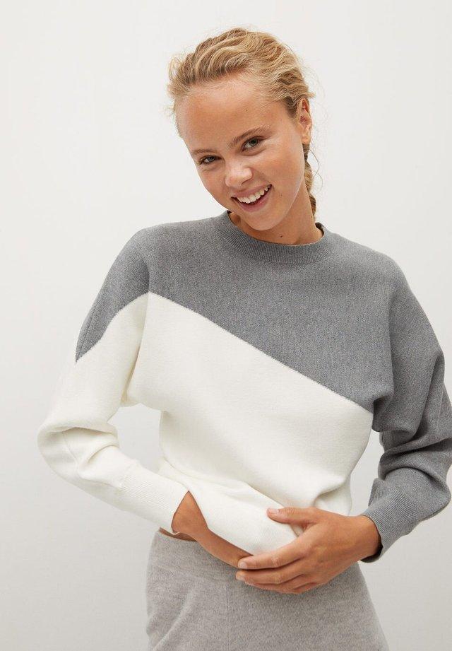 SPACE - Sweater - středně šedá vigore