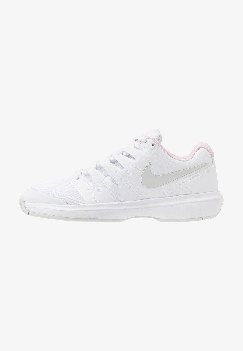 Nike Performance - AIR ZOOM PRESTIGE - Multicourt tennis shoes - white/photon dust/pink