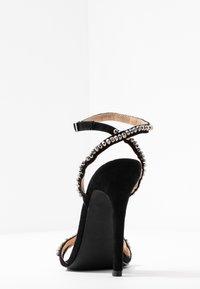 BEBO - NATALIE - Sandály na vysokém podpatku - black - 5