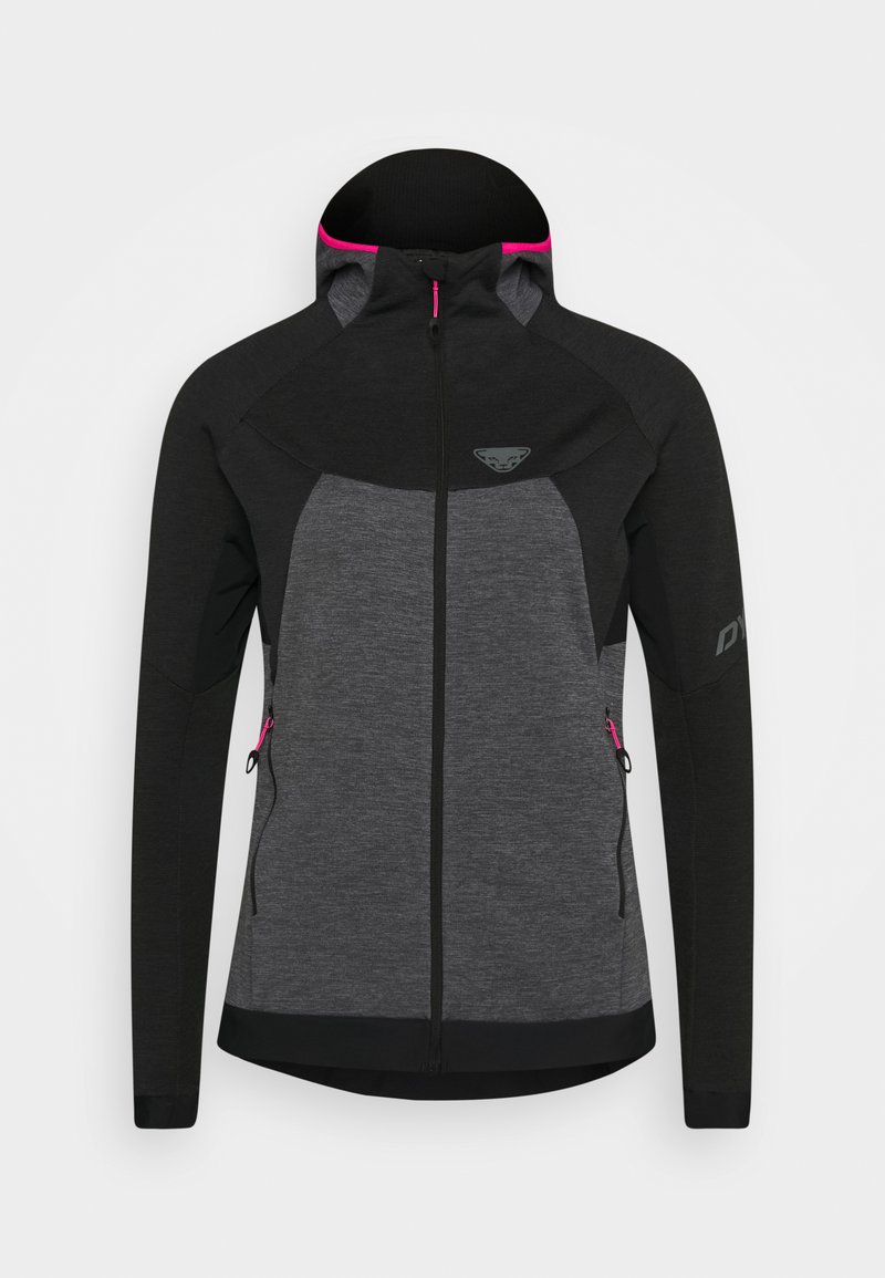 Dynafit - TOUR THERMAL HOODY - Fleece jacket - black out