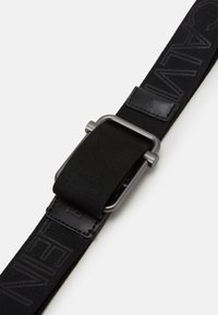 Calvin Klein Jeans - SLIDING BAR WEBBING - Belt - black - 2