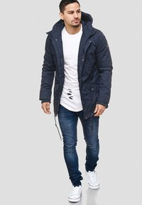 INDICODE JEANS - Winter jacket - dark blue - 1