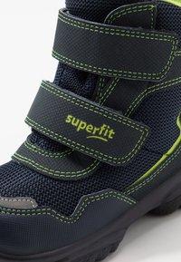 Superfit - SNOWCAT - Botas para la nieve - blau/grün - 5