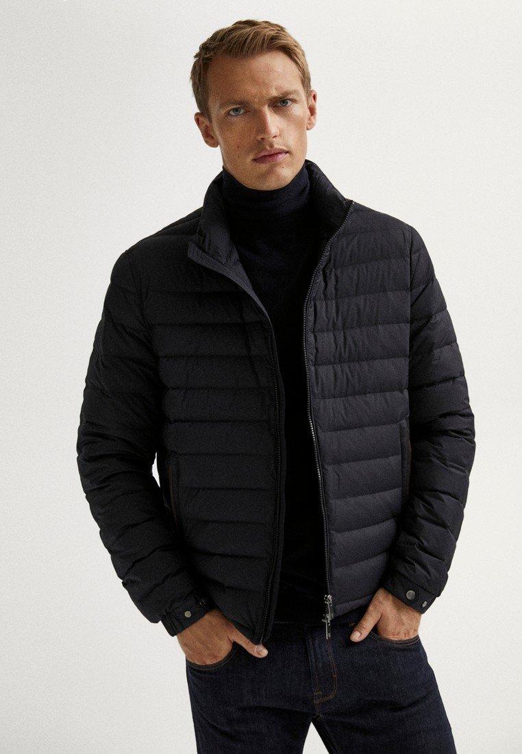 Massimo Dutti - Light jacket - blue-black denim