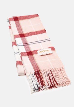 HAILES TARTAN WRAP - Scarf - red/pink