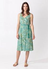 Indiska - INA - Denní šaty - green - 0