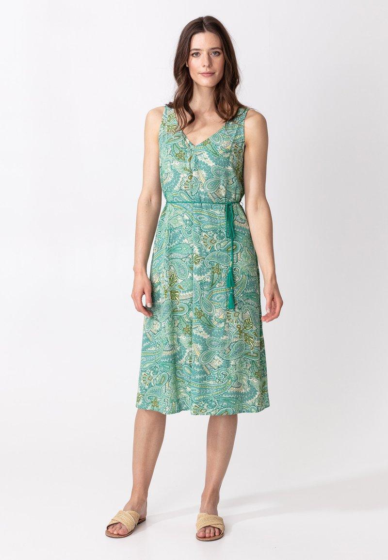 Indiska - INA - Denní šaty - green