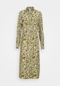 Object - OBJAZZA DRESS - Košilové šaty - khaki - 5