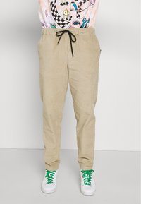 Vintage Supply - JUMBO JOGGER  - Pantalon classique - beige - 0