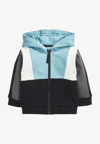 Zip-up sweatshirt - teal