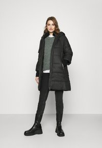 Sisley - HEAVY JACKET - Winter coat - black - 1