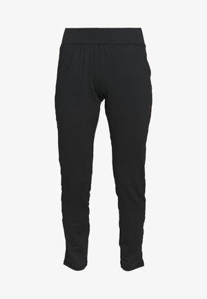 ONPPERFORMANCE BAY SLIM PANTS - Pantalones deportivos - black/red