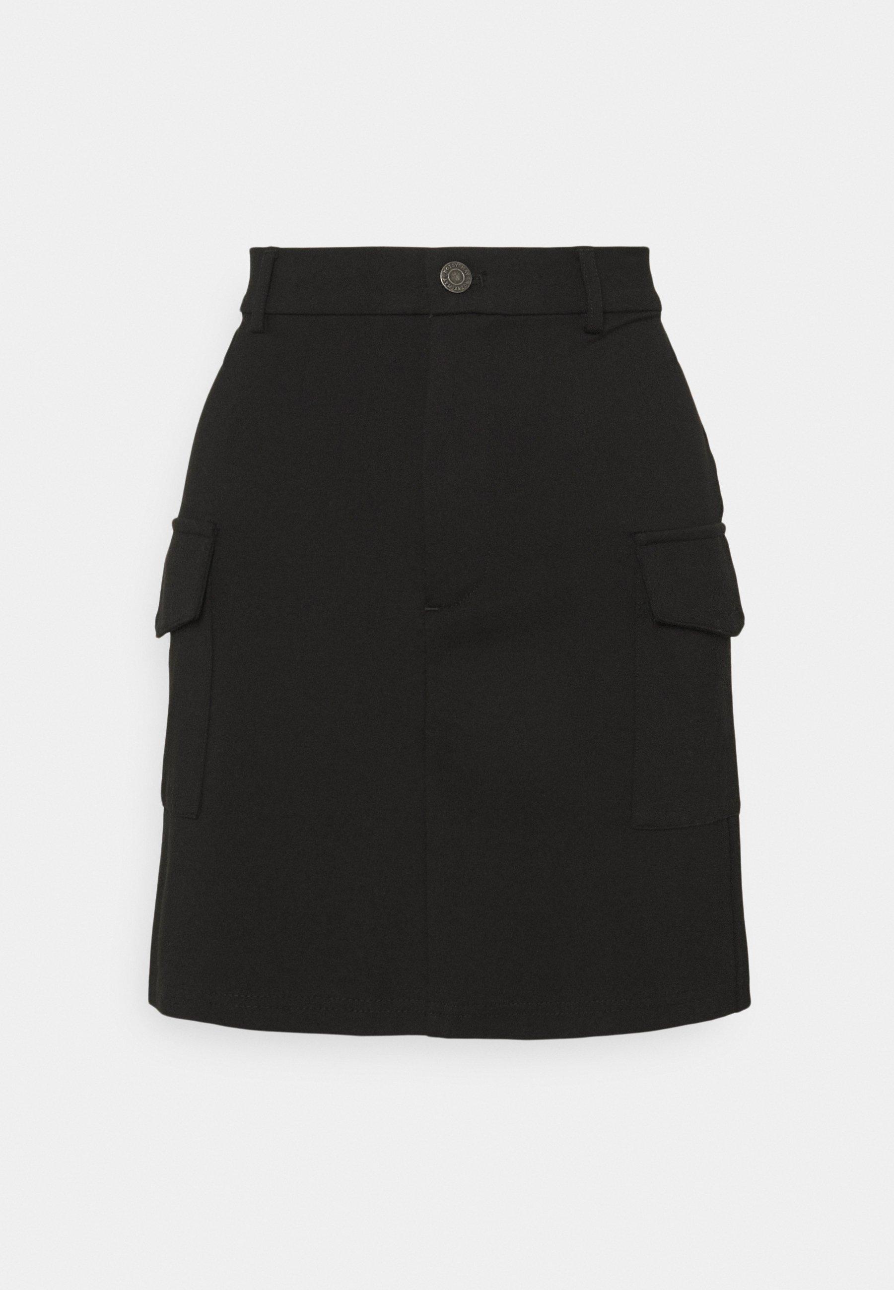 Mujer NMHIPE PALMA SKIRT - Minifalda