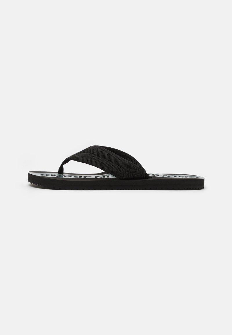 Calvin Klein Jeans - BEACH - T-bar sandals - black