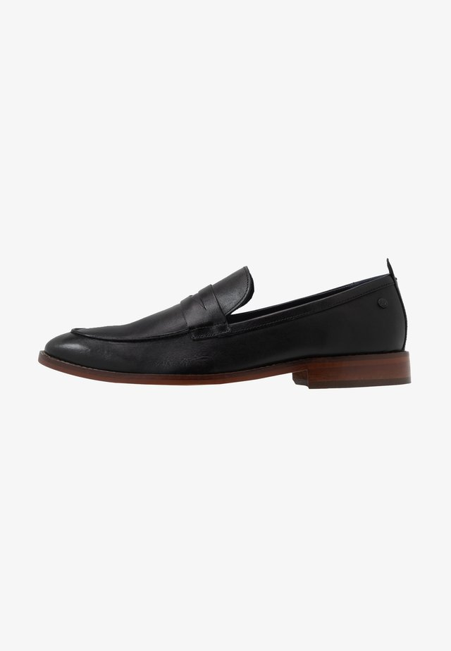 LENSE - Smart slip-ons - waxy black