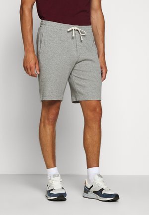 TERRY - Tracksuit bottoms - andover heather