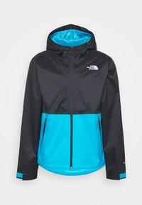 Waterproof jacket - blue/black